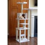 Cat cando, Amarakat faux fleece ITEM# 12374075. Overstock/http://www.overstock.com/Pet-Supplies/Armarkat-Cat-Tree-Condo-Scratcher/4413819/product.