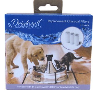 Drinkwell 360 Carbon Replacement Filters, 3 count