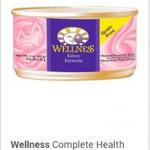 Wellness complete health kitten, Wet pate' 3.5 oz.