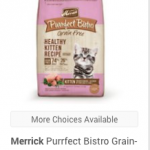 Merrick Purrfect Bistro Grain-Free Healthy Kitten Recipe Dry Cat Food, 7-lb bag